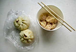 Baozi and jiaozi