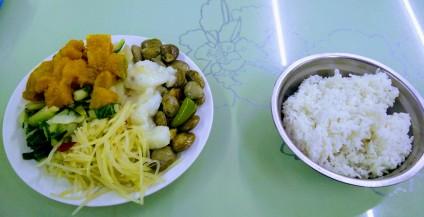 Veggies with rice